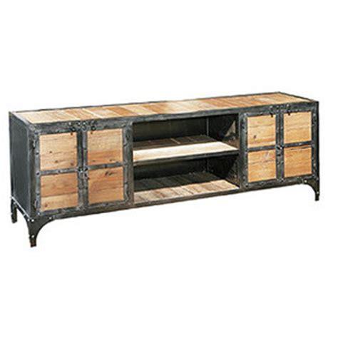 Metal Wood Furniture by Hudson Goods Industrial Vintage Wood And Metal Furniture