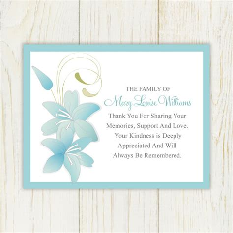 printable card sympathy sympathy thank you card printable by eloycedesigns on etsy