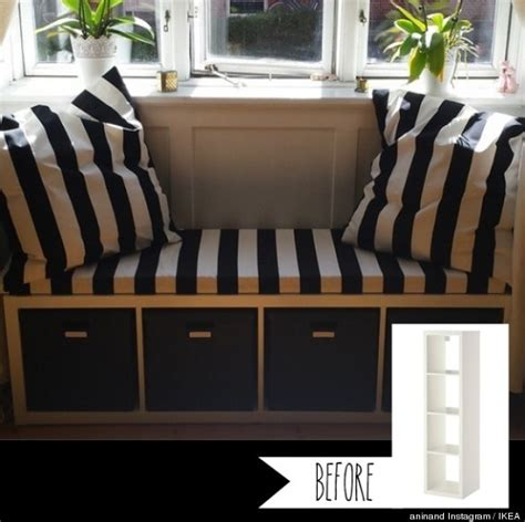 ikea hacks bench 13 ikea before and afters that make our jaws drop