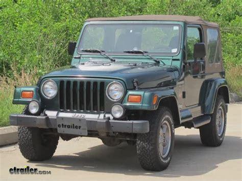 1999 Jeep Wrangler Frame Draw Tite Max Frame Trailer Hitch Receiver Custom Fit