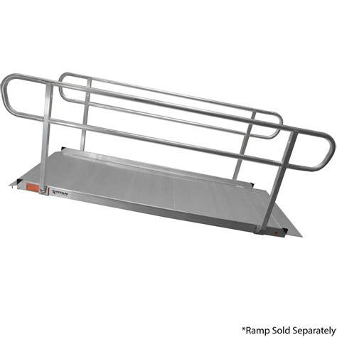 Wheelchair R Handrails titan 8 wheelchair entry r handrails only