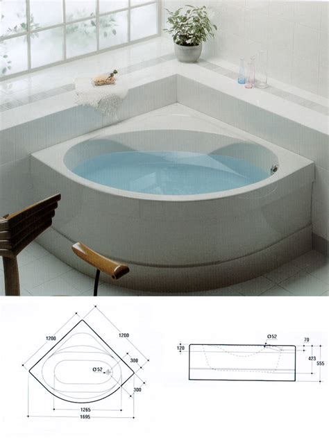 vasca ad angolo dwg impianti sanitari ideal standard