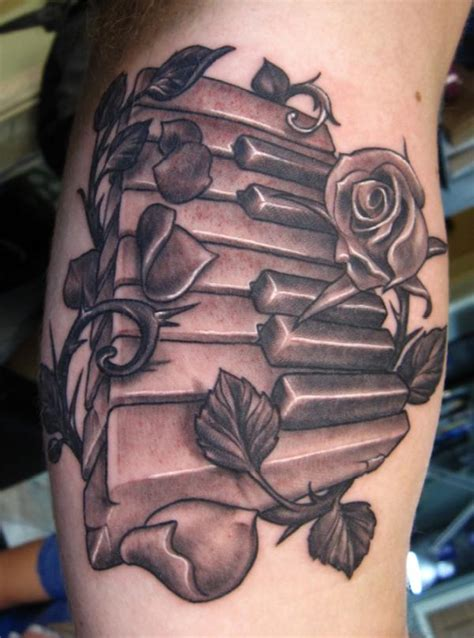 1000 images about paino key tattoos on pinterest piano