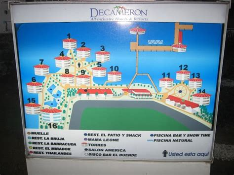 aquaria resort map foto de royal decameron aquarium san andr 233 s map of hotel