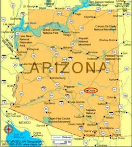 south arizona map globe az pictures posters news and on your