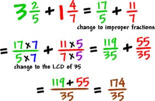 how to add fractions how to
