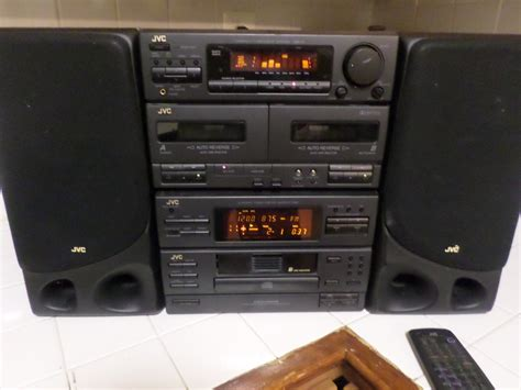 early 1990 s jvc home stereo system compact component