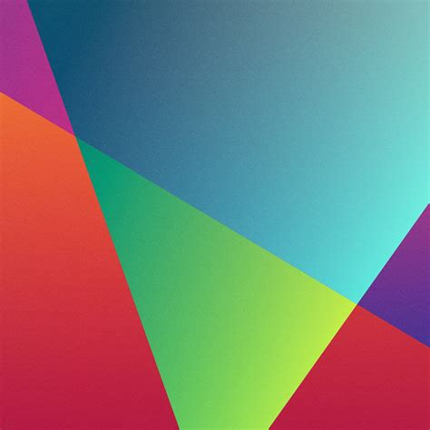 technology colorful triangles ios style ipad wallpaper