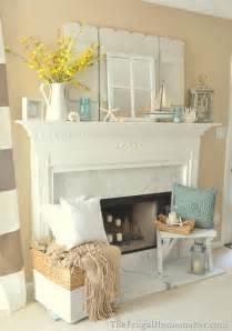 nicely decorated homes nicely decorated homes coastal fireplace mantel decor
