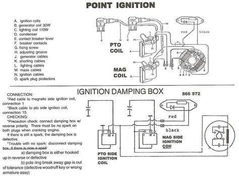 rotax points ignition wiring diagram bosch points