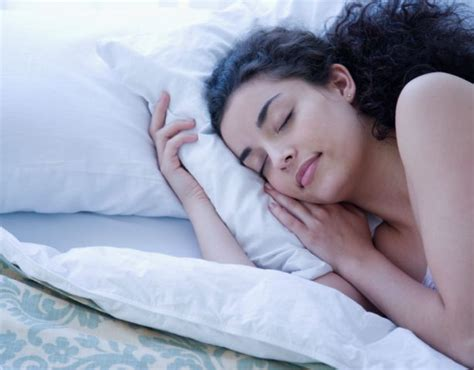woman sleeping in bed brushing your teeth in the dark could be the secret to a