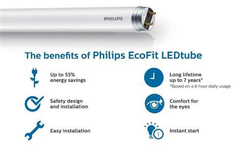 Lu Philips Led Ecofit 1200mm 16w 765 T8 Putih philips ecofit ledtube t8 1200mm 16 end 9 29 2018 12 15 am