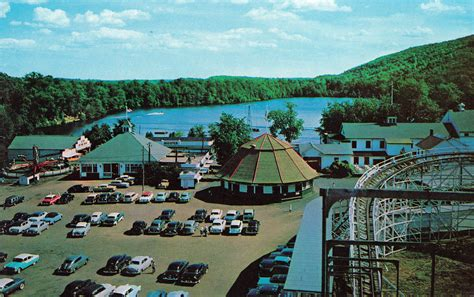theme park bristol lake compounce amusement park bristol ct postcards net