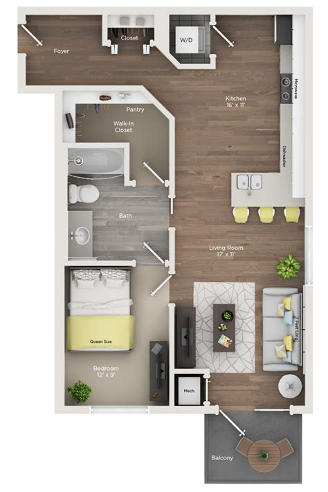 one bedroom one bath apartments one bedroom one bath a metro 59 apartments