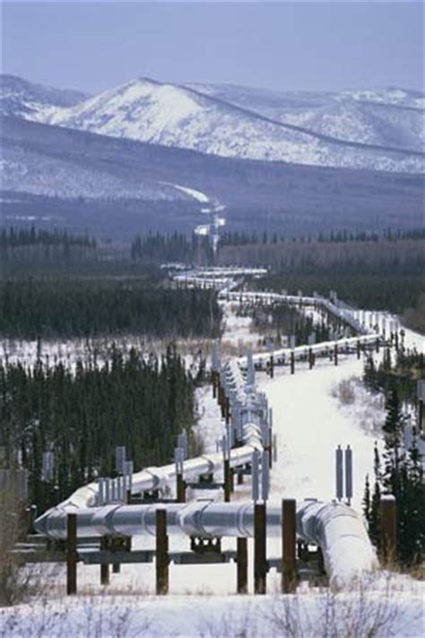 And The City In The Pipeline by Trans Alaska Pipeline Pipeline Alaska United States