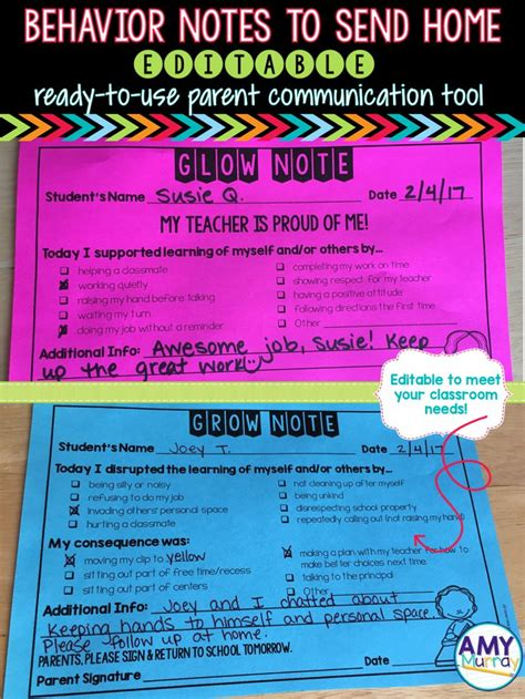 creative thank you note to teacher from parent