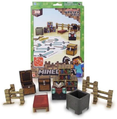 Minecraft Papercraft Utility Pack - minecraft papercraft utility pack 28 images wildkin