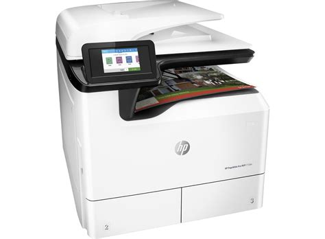 Printer A3 Toner hp pagewide pro 772dn a3 colour multifunction printer hp
