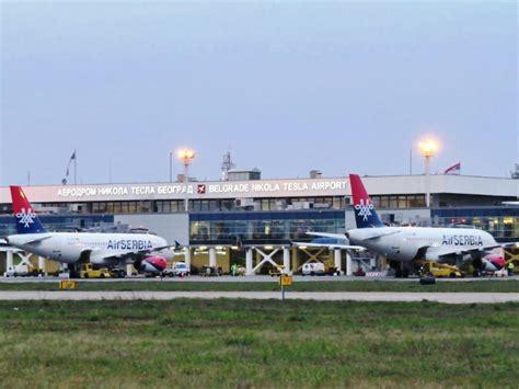 Belgrade Nikola Tesla Airport A Car Nikola Tesla Aerodrom Tesla Image