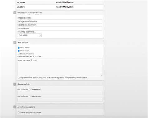 mandrill templates mandrill env 237 o de emails transaccionales desde drupal