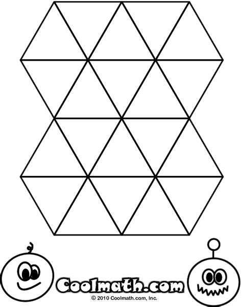 triangle coloring pages for toddlers coloring pages for kids triangle shape coloring page for kids