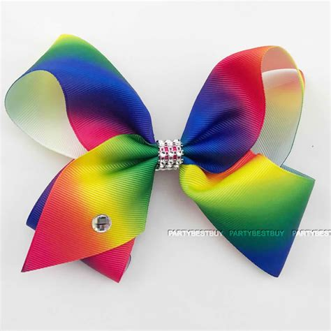 big bow pictures large hair bow rainbow bows accessories 6 inch 763769256711 ebay