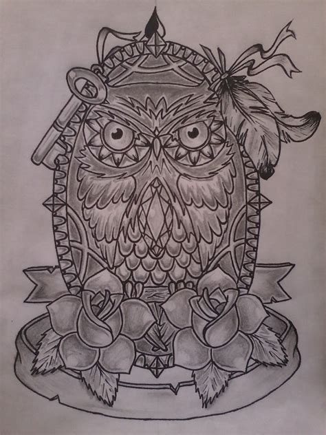 tattoo owl sketch owl tattoo sketch by misho95 on deviantart