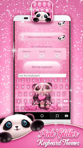 go keyboard themes pink mobile9 download pink glitter keyboard themes google play