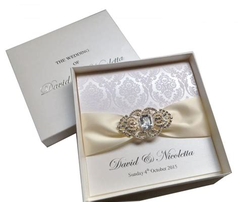Luxury Wedding Invitations by Luxury Wedding Invitations Flocked Invitations Boxed