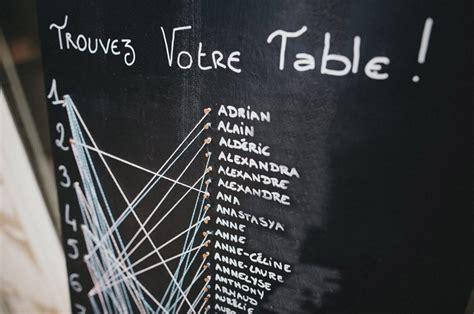 plan de table en diy mariage un plan de table original rue rivard