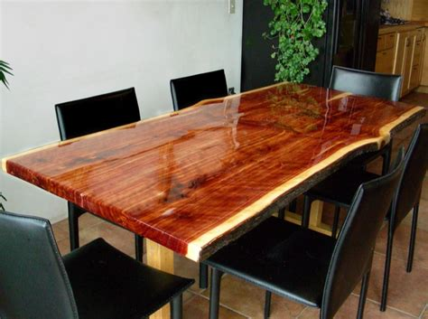 Clear Epoxy Resin Table Photos