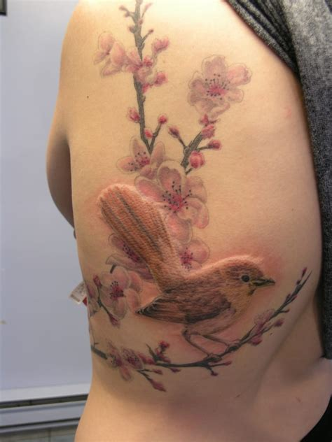 nightingale tattoo nightingale with cherry blossoms by kyle yelp