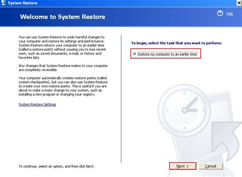restore windows xp to previous date how to unlock computer though system restore restore