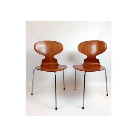 Chaise Fourmie by Chaise Quot Fourmi Quot Arne Jacobsen 1952 Design Market