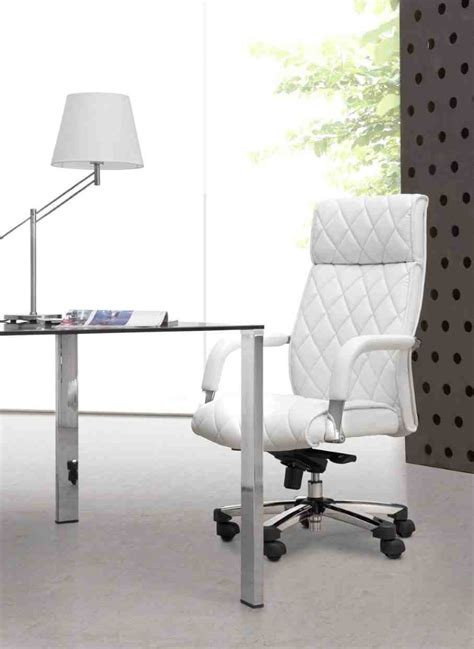 White Office Desk Chair White Chair For Desk Home Furniture Design
