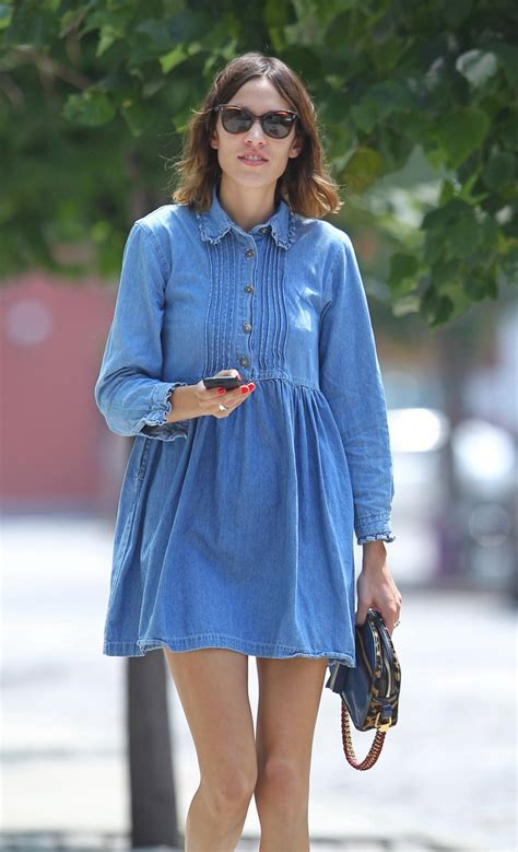 Denim Babby Doll chic denim dresses to get your on now glam radar