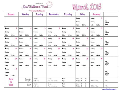 G Prep Calendar 30 Best Images About Weight Loss Tracker On