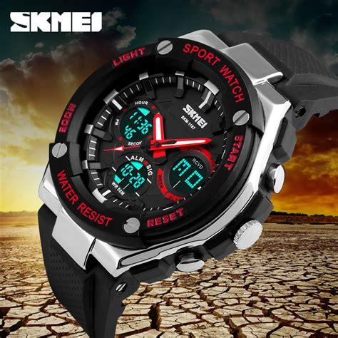 Jam Tangan Pria Skmei Water Resistant 50m Classic Stainless Series skmei jam tangan analog pria ad1187 black white jakartanotebook