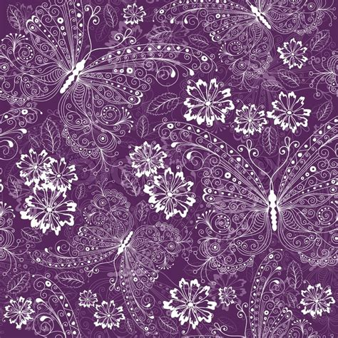 hd purple shadow florals seamless pattern background violet seamless floral pattern with vintage white