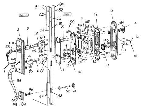 latch diagram schlage mortise lock parts diagram schlage mortise lock