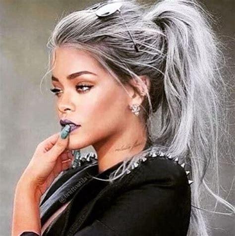 latest ideas  long short medium grey hairstyles