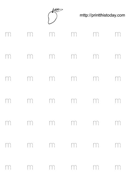 alphabet worksheets letter m free printable alphabet m tracing worksheets