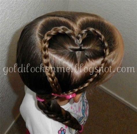 cute girl hairstyles valentines 17 best ideas about heart braid on pinterest heart hair