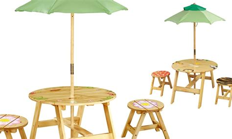 children s outdoor table and chairs teamson table chairs groupon goods
