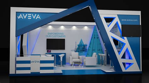 booth design in egypt exhibition stand trade show display at egyps 2018