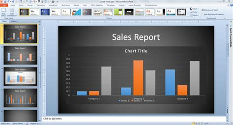 Innovative Business Graph Ideas In Powerpoint Business Graph Templates