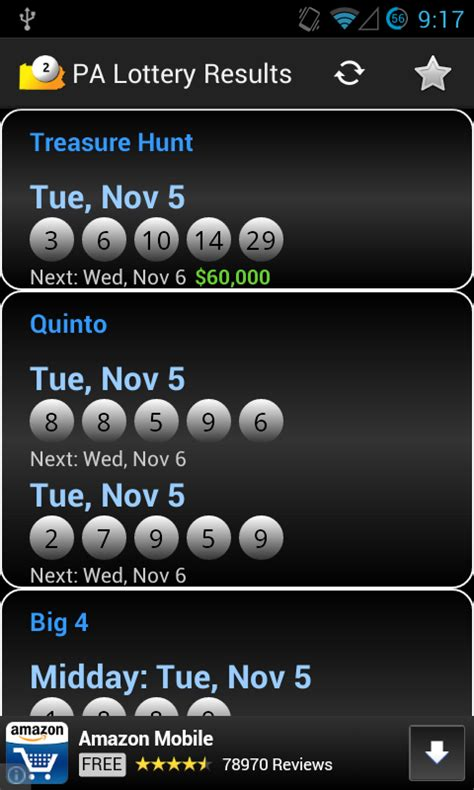 Number Search Pa Pa Lottery Daily Number Past Results Winning Lotto Numbers Az