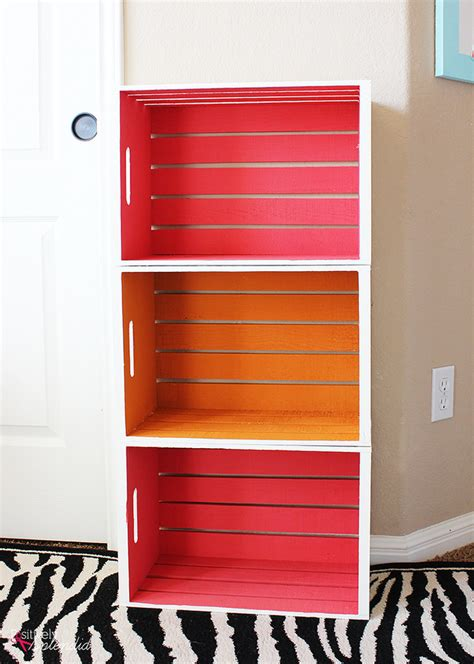 Kids Bedroom Decorating Ideas 10 clever diy wood crate projects decorating your small