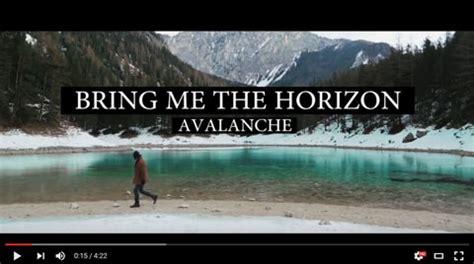 testo bring me to bring me the horizon avalanche testo traduzione e