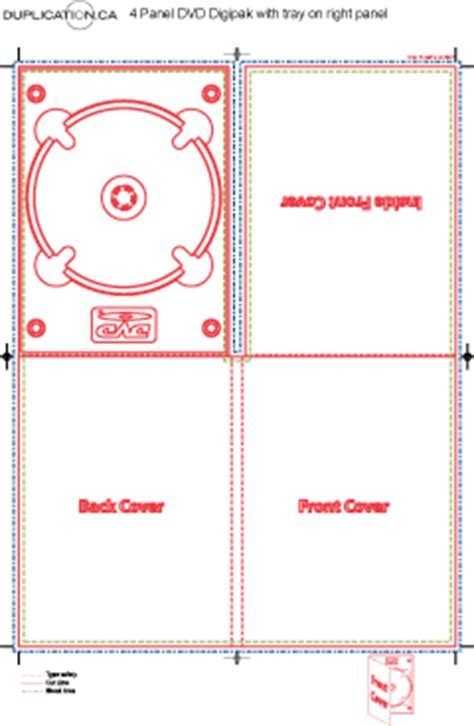 cd dvd digipak template download